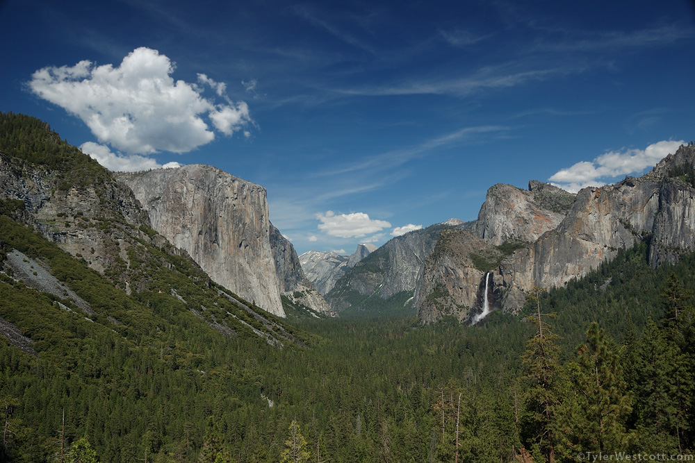 Discovery View, Yosemite National Park, California