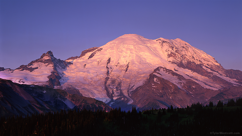 Sunrise Sunrise, Mount Rainier National Park