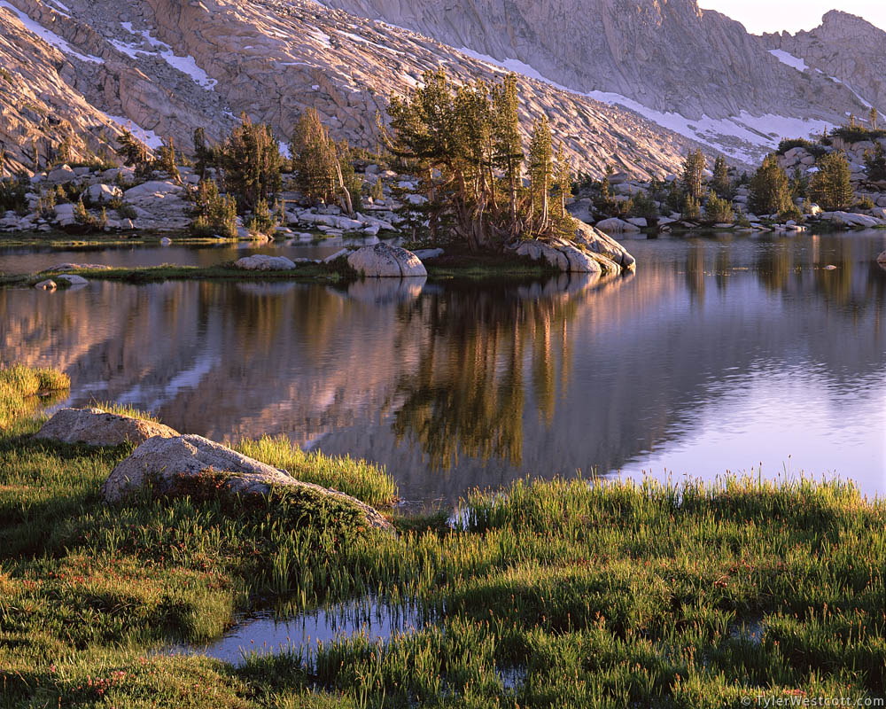 Evening, Upper Young Lake, Yosemite National Park