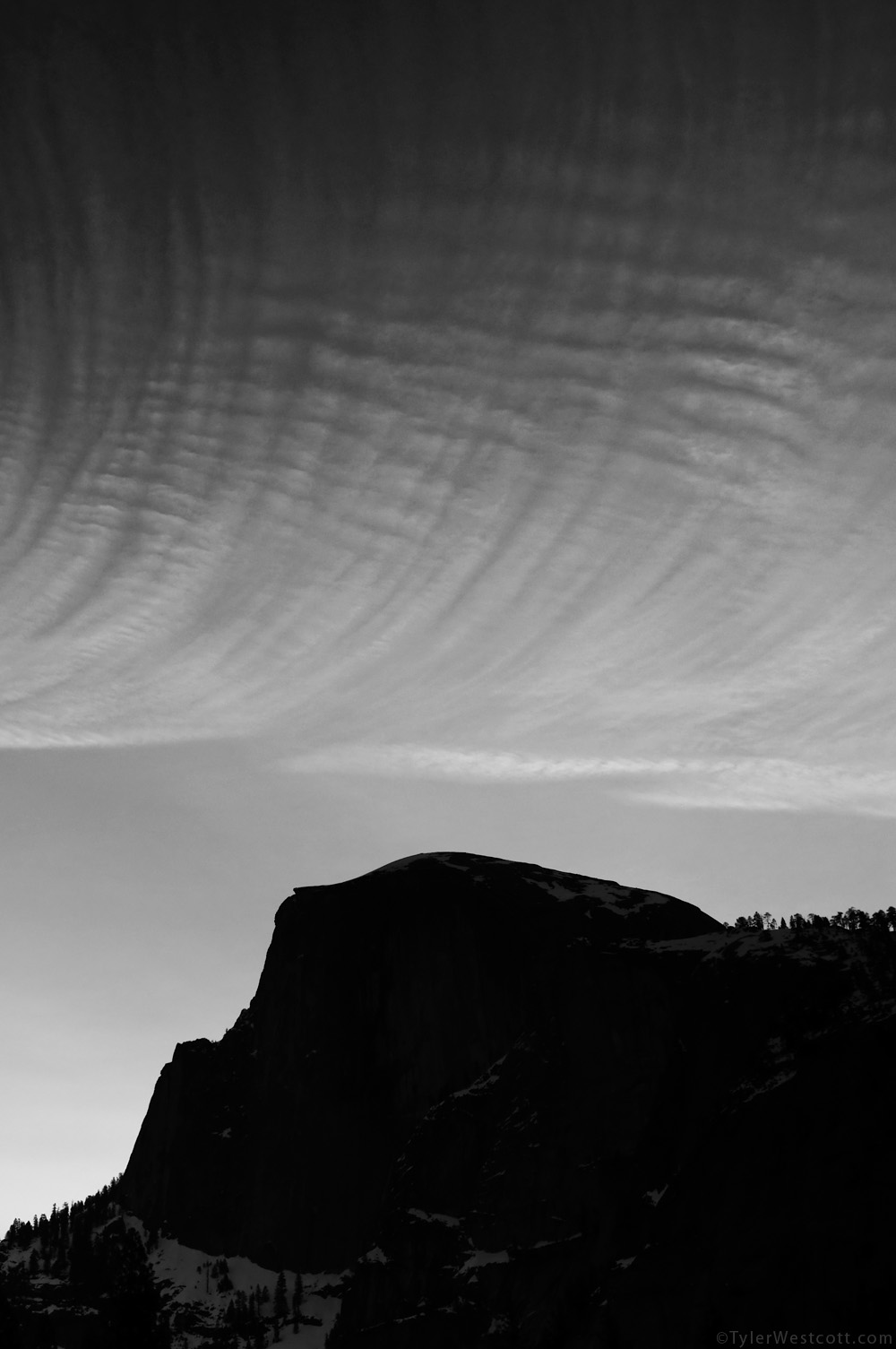 Half Dome Silhouette, Yosemite National Park