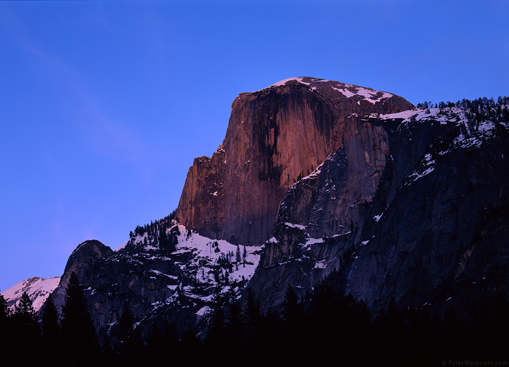 Half Dome Sunset, Yosemite National Park