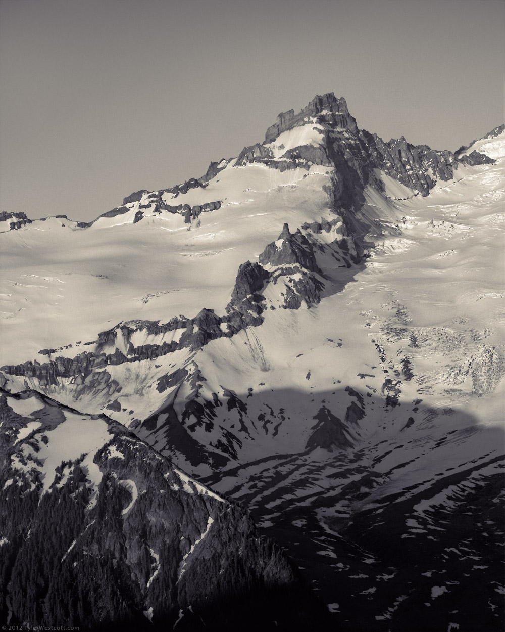 Little Tahoma Peak, Mount Rainier National Park
